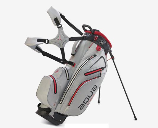 Silverline Golf Teleskop Entfernungsmesser : Golftasche standbag silver black red 2018 hybrid