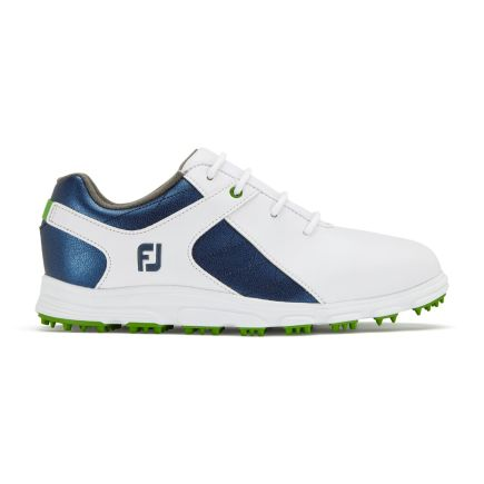 FootJoy Golfschuh Footjoy Junior weiß/blau