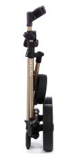 Flat Cat Push 3-Rad Trolley Gold-Bronze