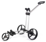 Flat Cat Push 3-Rad Trolley Silber