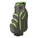 Ouul Python Waterproof Cart Bag dark grey/light yellow/olive