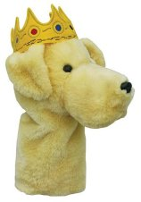 Daphne Yellow Lab with Crown Driver Headcover