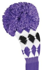 Daphne Sparkle Fairway lila Rauten Headcover