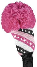 Daphne Sparkle Fairway pink Streifen Headcover