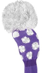 Daphne Sparkle Fairway lila Punkte Headcover