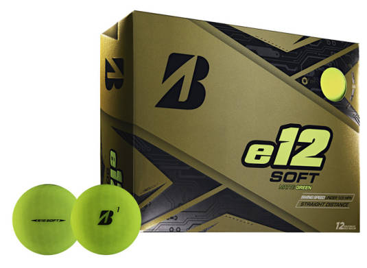 Bridgestone E12 SOFT Matte Green