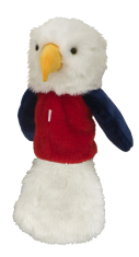 Daphne s Red, White, Blue Eagle Headcover