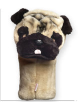 Daphne Pug Mops Driver Headcover