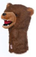 Daphne s Grizzly Bear Headcover