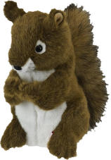 Daphne Squirrel Driver Headcover
