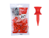 Masters Plastic Graduated Tees 1 1/4 32 mm bag 35 Red