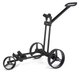Flat Cat Push 3-Rad Trolley Schwarz
