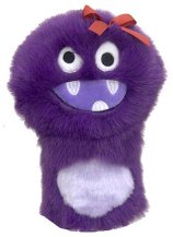 Daphne Purple Monster Driver Headcover